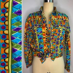 Vintage 80s Long Sleeve Button Down Shirt